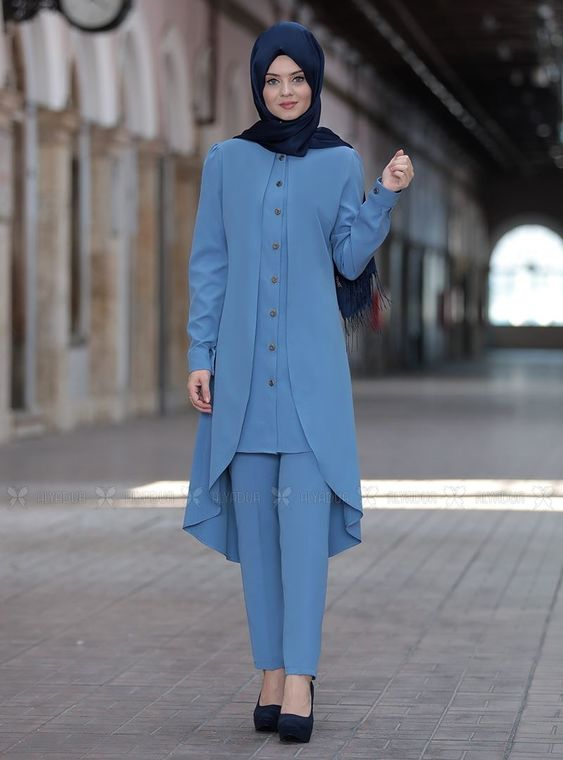 Ahunisa - Bebe Mavi Dilay Takım - AHU14668