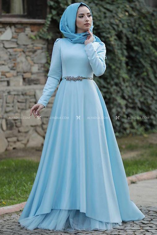 Lefzen - Bebe Mavi Esil Abiye - LF13095