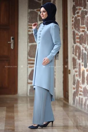 Bebe Mavi Mina İkili Takım - AHU13638 - Thumbnail