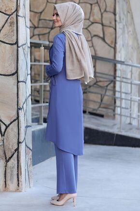 Bebe Mavi Nadide Takım - AHU15455 - Thumbnail