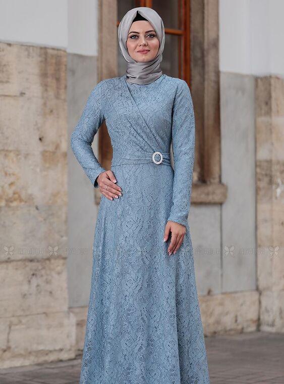 Bebe Mavi Tanem Abiye - AHU15086