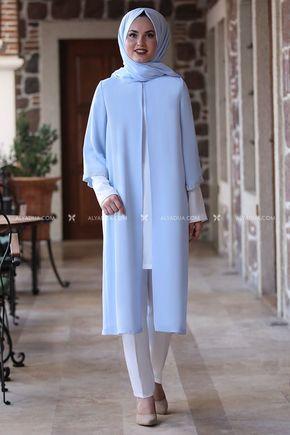 Alyadua - Bebe Mavi Taş Detay Tunik - AD14026