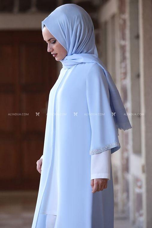 Bebe Mavi Taş Detay Tunik - AD14026