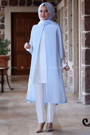 Bebe Mavi Taş Detay Tunik - AD14026 - Thumbnail