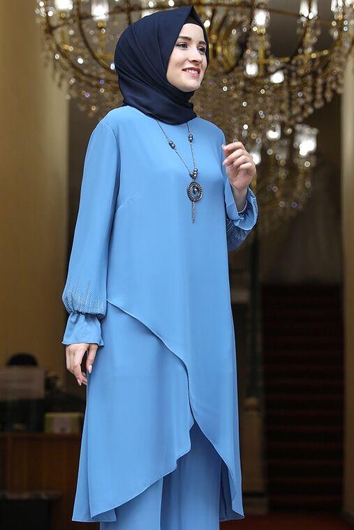 Bebe Mavisi Azra Takım - AMH1647