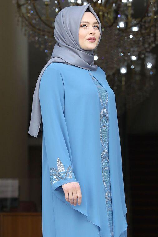Bebe Mavisi Fulya Abiye - AMH16113