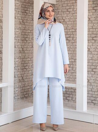 Fashion Showcase - Bebe Mavi Yıldız İkili Takım - FS15191