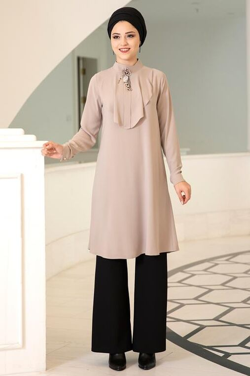 Dress Life - Bej Ekin Tunik - DL15679