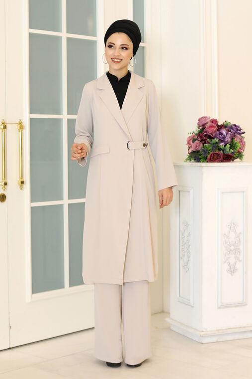 Dress Life - Bej Klass İkili Takım - DL16487