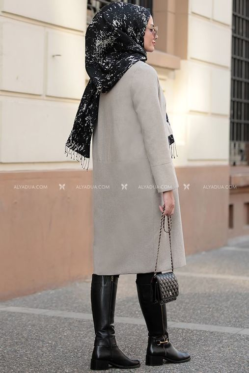 - Berra Trench Coat - Grey - ST12621 (1)