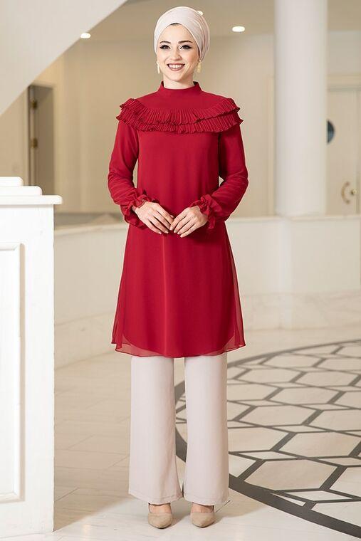 Dress Life - Bordo Elvin Tunik - DL16179