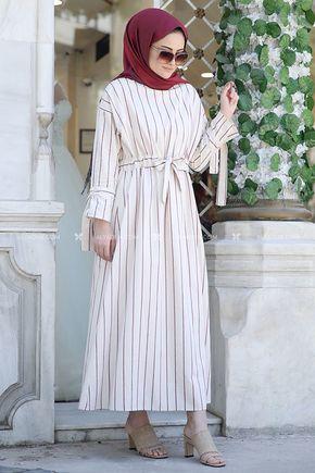 Seda Tiryaki - Bordo Nil Elbise - ST13917