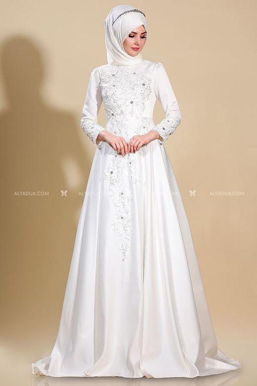 864c2a951b73a Yeni Som Fashion - Ekru Lilyum Abiye - SF13233 ...