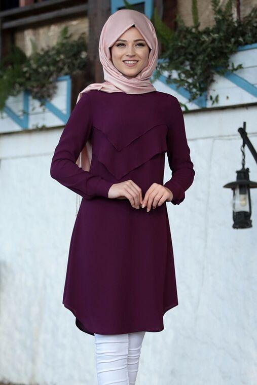 Dress Life - Fuşya İkra Tunik - DL16171