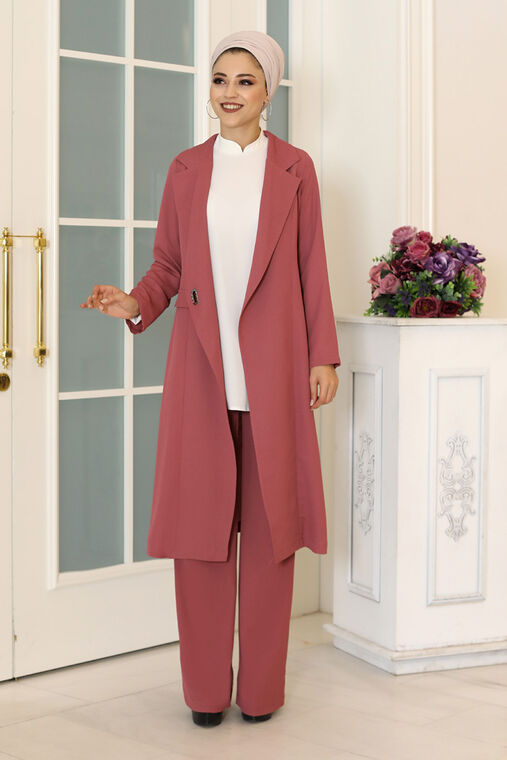 Dress Life - Gül Kurusu Klass İkili Takım - DL16491