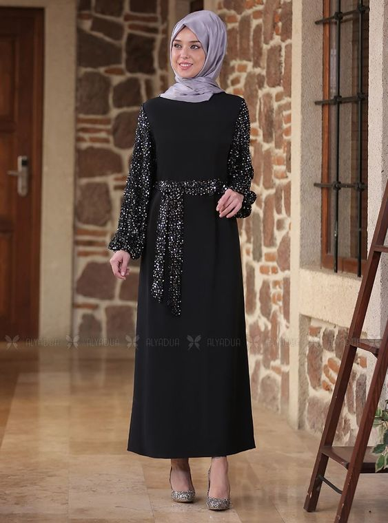 Emsale - Gümüş Nefes Elbise - ES14295