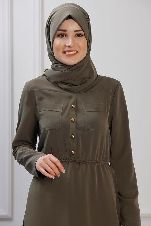 Haki Ayça Elbise - RZ153382