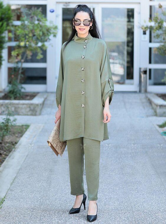 Moda Rafta - Haki İlkadım Takım - MOR15366