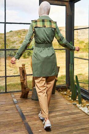 Haki Yağmur Treçkot - SRK15659 - Thumbnail