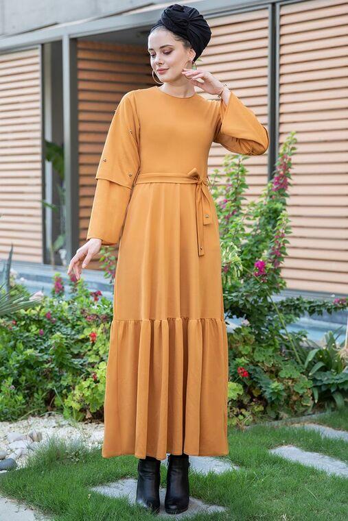 Hardal Rana Elbise - SES15394