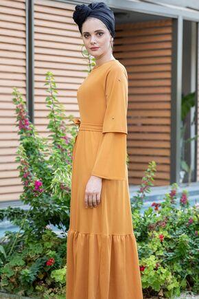 Hardal Rana Elbise - SES15394 - Thumbnail
