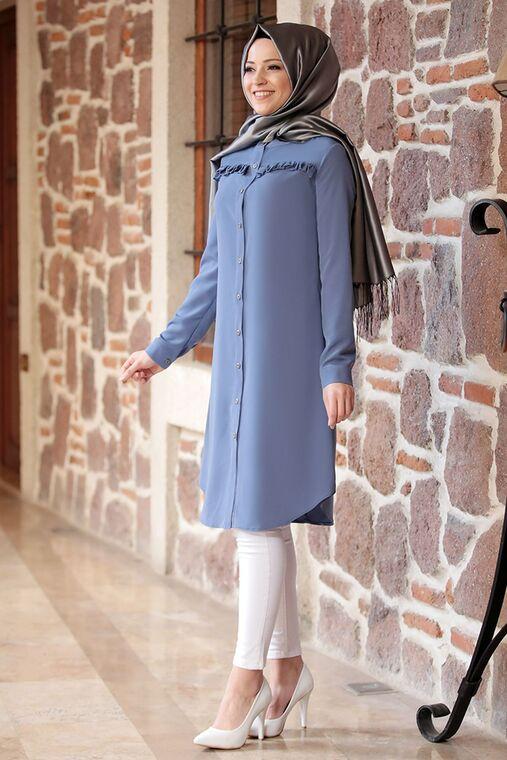 Dress Life - İndigo Akasya Tunik - DL16192