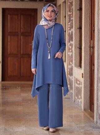Fashion Showcase - İndigo Yıldız İkili Takım - FS15037