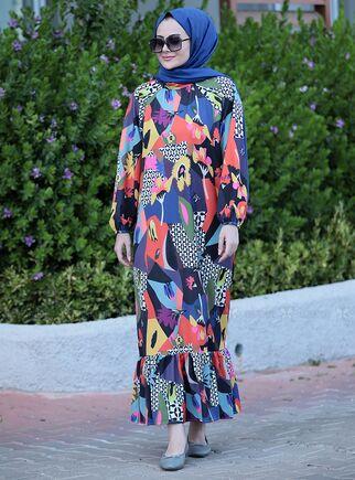 Seda Tiryaki - İpek Elbise - ST15107