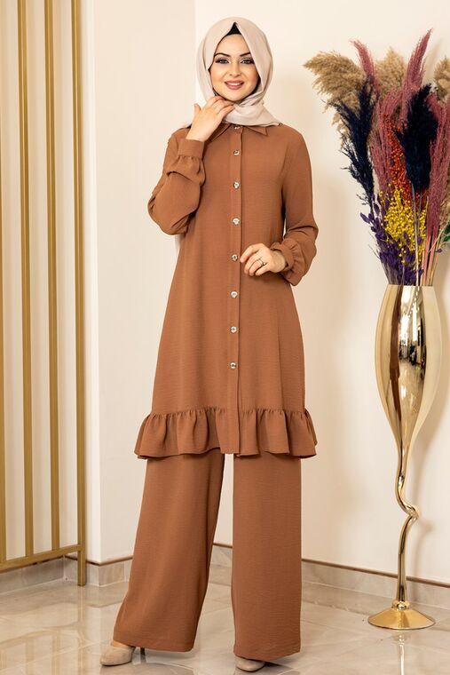 Fashion Showcase - Kahve Aerobin Bahar Takım - FS15876