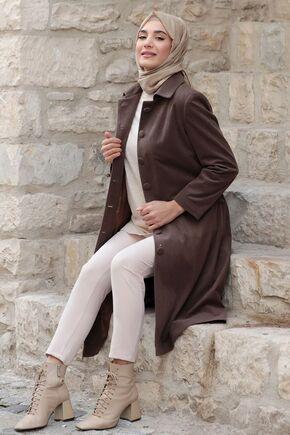 Kahverengi Azra Kaban - RZ15557 - Thumbnail