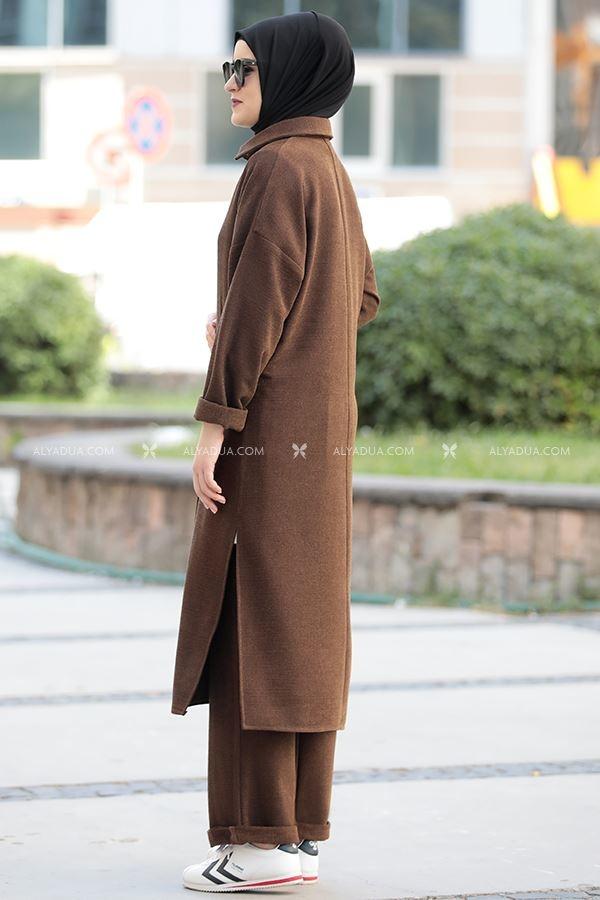 Kahverengi Eflin İkili Takım - RZ14196