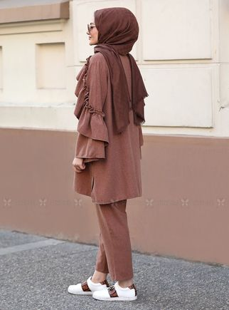 Kahverengi Rüya Takım - ST14568 - Thumbnail