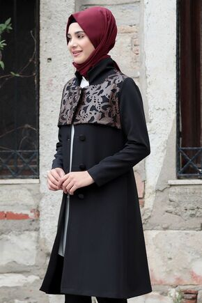 Kahverengi Sude Deri Kap Ve Pantolon - RZ15578 - Thumbnail