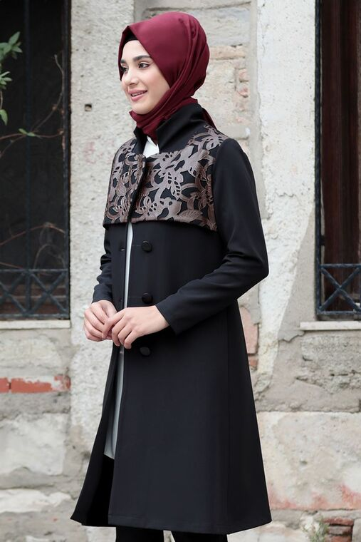 Kahverengi Sude Deri Kap Ve Pantolon - RZ15578