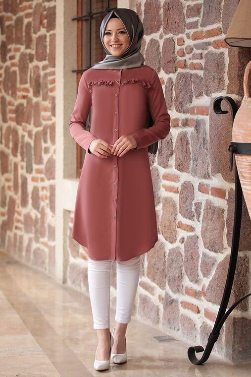 Dress Life - Kiremit Akasya Tunik - DL16191