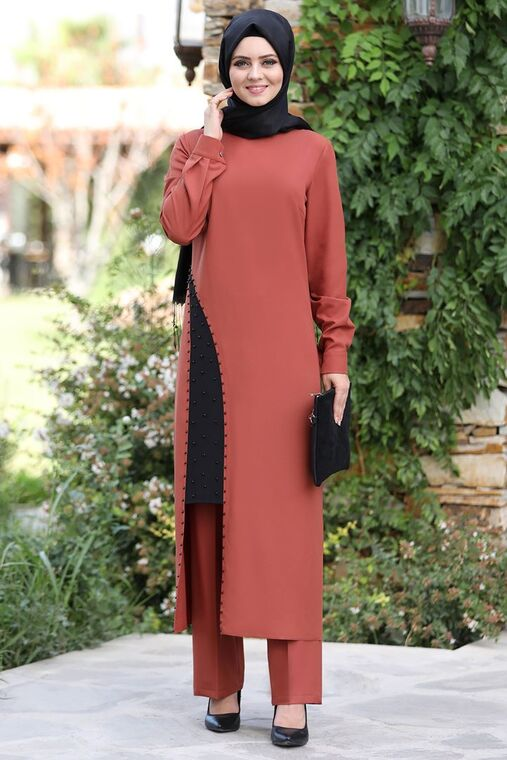 Ahunisa - Kiremit Efser Takım - AHU15464