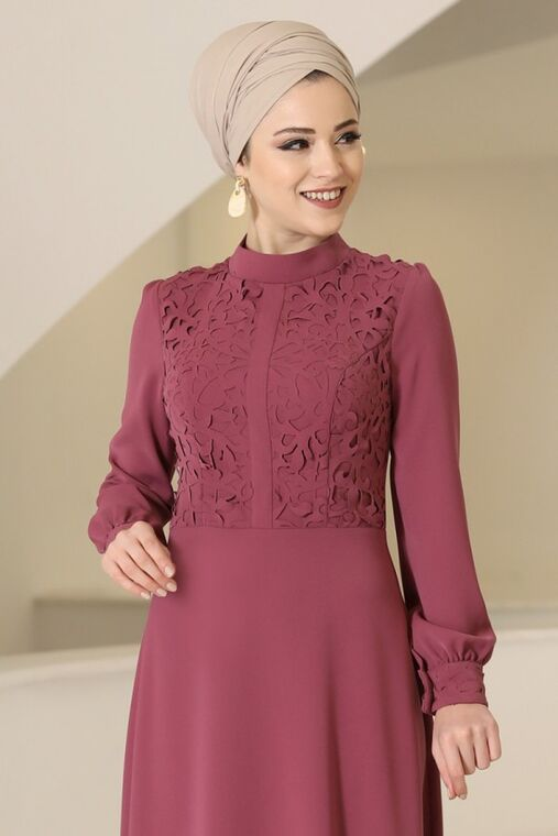 Gül Kurusu Mira Elbise - DL16099