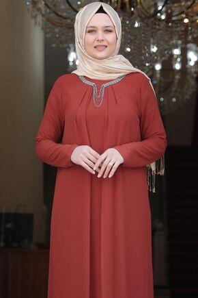 Kiremit Esma Elbise - AMH16101 - Thumbnail