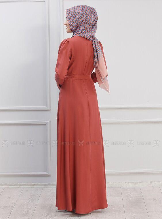 Kiremit Hazal Elbise - PN15293