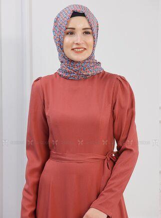 Kiremit Hazal Elbise - PN15293 - Thumbnail