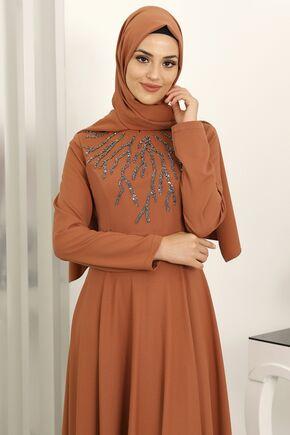 Kiremit Hilal Abiye - SUR16268 - Thumbnail