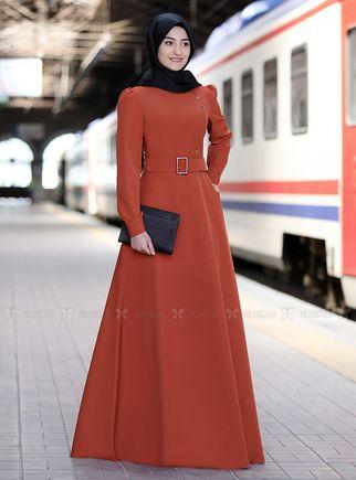 Rabeysa - Kiremit Hilal Elbise - RS14318