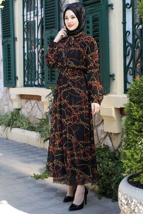 Emsale - Kiremit Lorin Elbise - ES15892