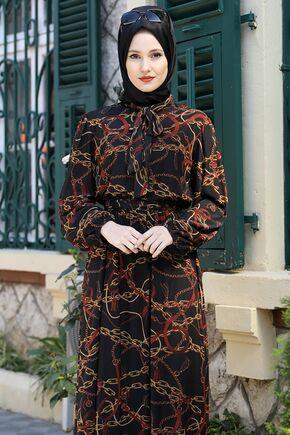 Kiremit Lorin Elbise - ES15892 - Thumbnail