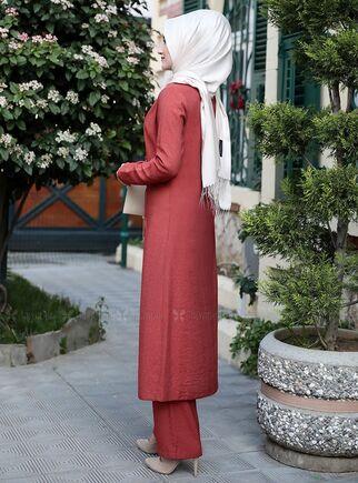 Kiremit Nergis İkili Takım - RS15010 - Thumbnail