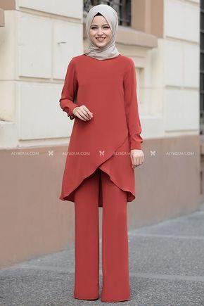 Dress Life - Kiremit Sena İki Takım - DL14207