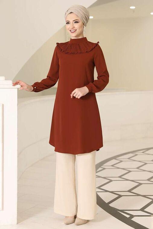 Dress Life - Kiremit Sima Tunik - DL16126