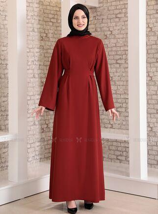 Fashion Showcase - Kiremit Yonca Abaya Elbise - FS15211