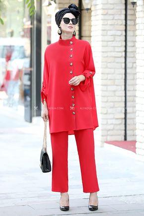 Moda Rafta - Kırmızı İlkadım Takım - MOR13730