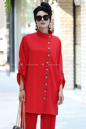 Kırmızı İlkadım Takım - MOR13730 - Thumbnail